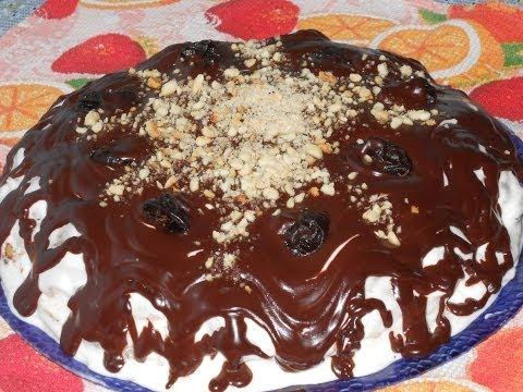 Торт без выпечки фото-рецепт